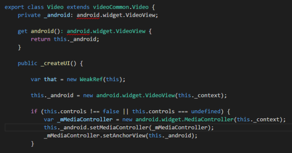 android API